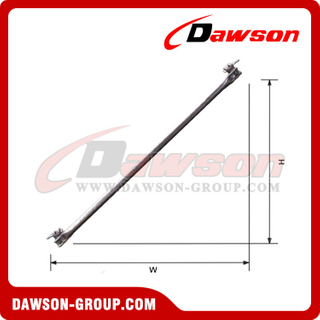 Diagonal brace Disc-Lock Scaffolding for Construction