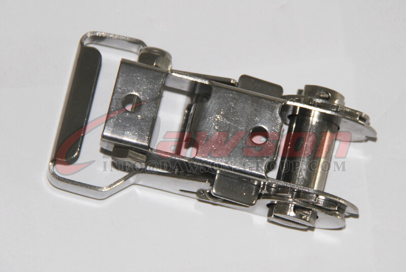 28MM Stainless Steel Ratcheting Buckle, Lashing Buckle