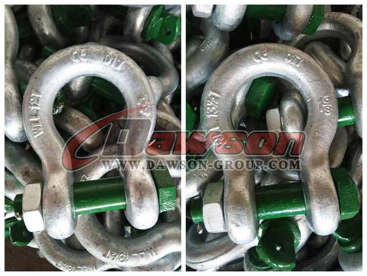 G2130 Hot Dip Galvanized US Type Chain Shackle - Dawson Group - China Supplier, Exporter