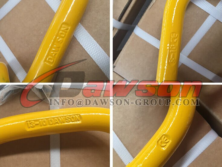 G100 Forged Master Link with 2 Grab Hook - Dawson Group Ltd. - China Supplier