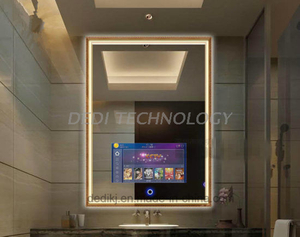 Dedi Wall Mounted Waterproof LCD Smart Touch Screen Magic Mirror TV Sensor