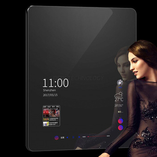 Dedi 43 Inch Android Touch Screen Magic Mirror Display Advertising Player