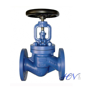 DIN Cast Steel Flanged Manual Globe Valve
