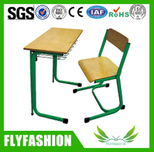 Popular Design School Furniture Single Student Deks And Chair(SF-67S)