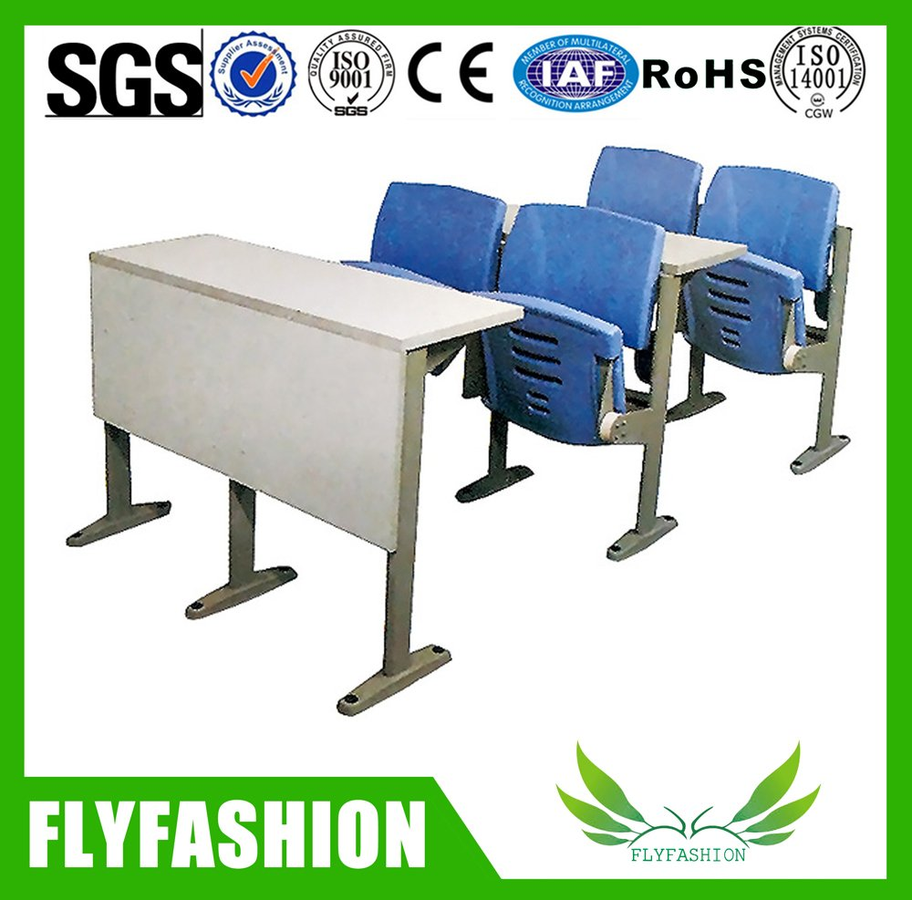 Simple design good quality student desk and chair(SF-14H)