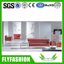 New Design Cheap Red Sofa Set (OF-19)