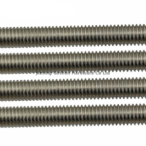 Metric SS316 SS304 stainless steel threaded rod DIN 975 DIN976