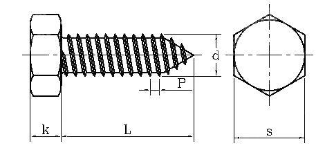 hex self tapping screws