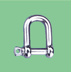 S/S COMMERCIAL DEE SHACKLE