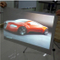 Self Adhesive Gray Rear Projection Film For Shop Window