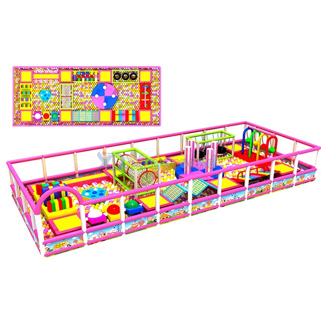 Commercial Just To Go Theme Park Ball Pit for Kids
