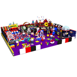 Space Theme Kids Soft Indoor Playground Equipment