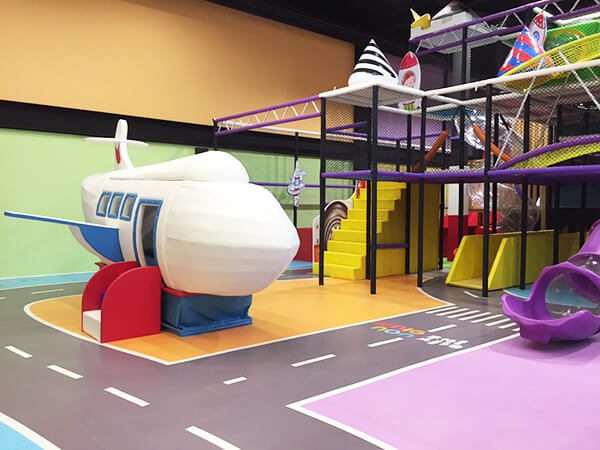Commercial Amusement Park Indoor Playground Equipment with soft play