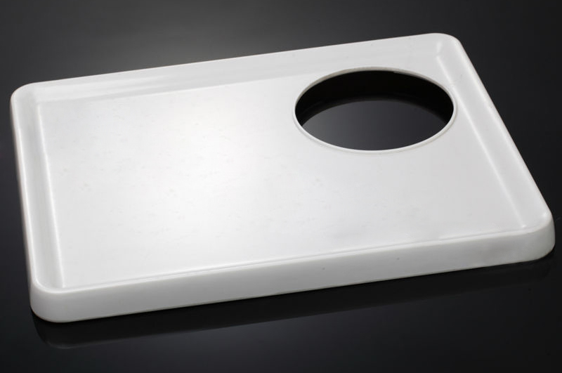 Hot Selling Melamine Tray with Hole for Kettle