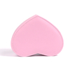 Pink Store Package Heart Shape 2 Tier Rotating Leather Jewelry Box