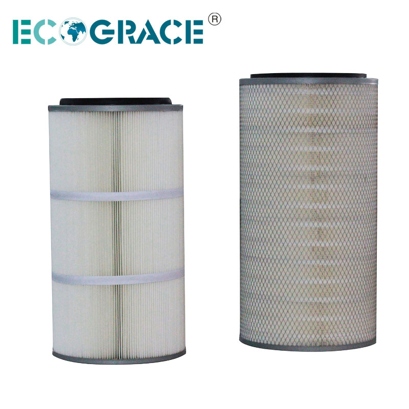 High Temperature Pleated Filter Cartridge ( Nomex / PPS )