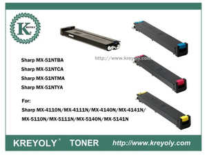 MX-51 Color Toner for Sharp Mx4110n/Mx4111n/Mx5110n/Mx5111n/Mx5112n