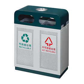 Outdoor waste can for parking lot HW-20