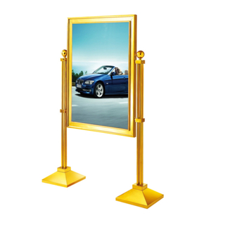 Upright Display Stand with Stainless Steel (ZP-23)