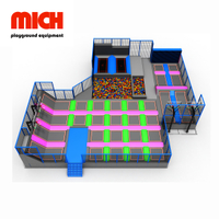 MICH Commercial Indoor High Performance Trampoline Park жабдықтары