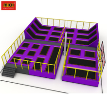 Safety different size amusement park high quality indoor jumping park