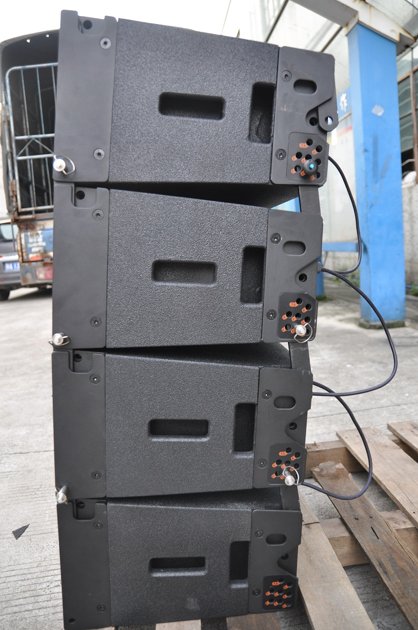 Touring dan Teater Bertenaga W8LM Mini 8-arah Line Array Speaker mini