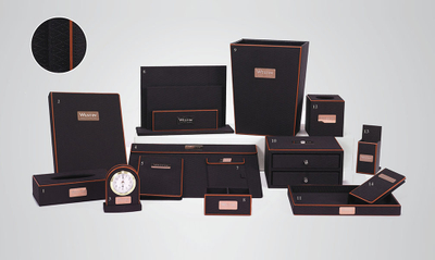 Guestroom Leather Accessories, Hotel Amenity Leather Products