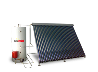 Heat Pipe Solar Collector (SPA-58/1800-30-C 300L system)