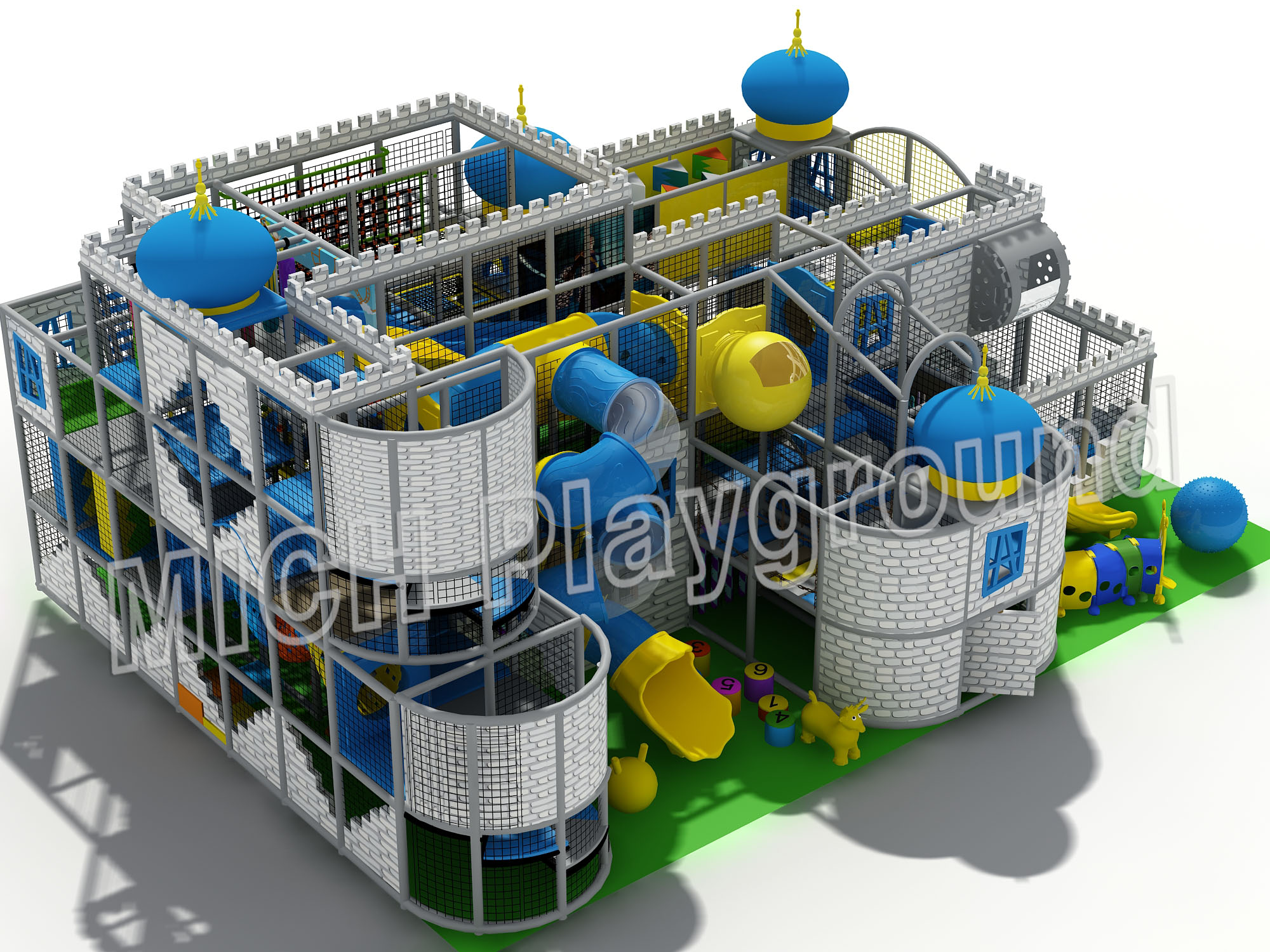 Mich Funny Indoor Amusement Playground 6642A