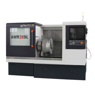 High Precision AWR28SL Diamond Cutting Automatic Alloy Wheel CNC Lathe Machine