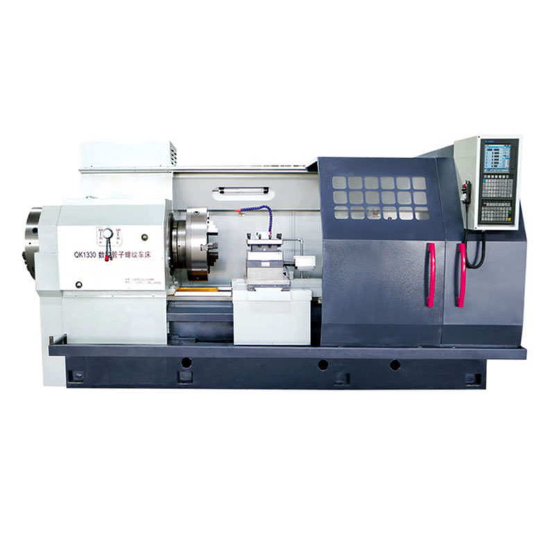 QK1330 China Factory CNC Pipe Threading Lathe Machine with High Precision