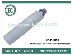 100% Compatible Black Toner Cartridge for Panasonic Ep-P 6010