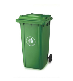 Plastic Outdoor Side-Wheel Trash Bin Waste Container (KL-24)
