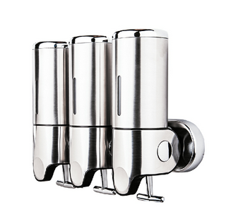 Stainless Steel Liquid Soap Dispenser with Three Head(SD-303A)