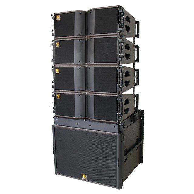 KARA S18 Dual-8-Zoll-Zweiweg-Bi-Ampere-Line-Array-System