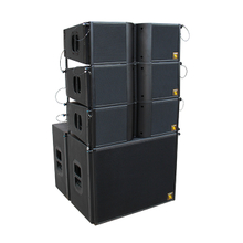 LA208 Dual 8 Polegadas Auto Powered Line Array System