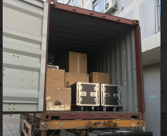 20 units L-8028 subwoofer, LE1500S stage monitor and FP10000Q shipped to South America