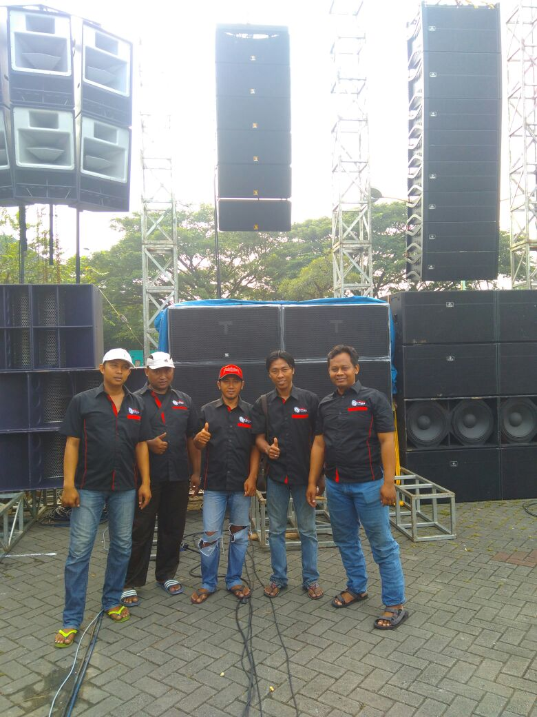 Sanway Audio KUDO y KS28 en Indonesia