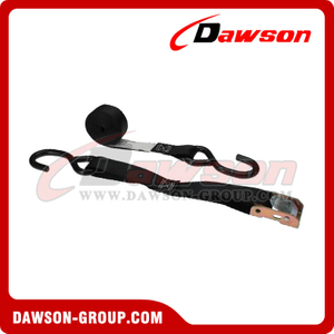 1 inch 6 feet Cam Buckle Strap with S-Hooks