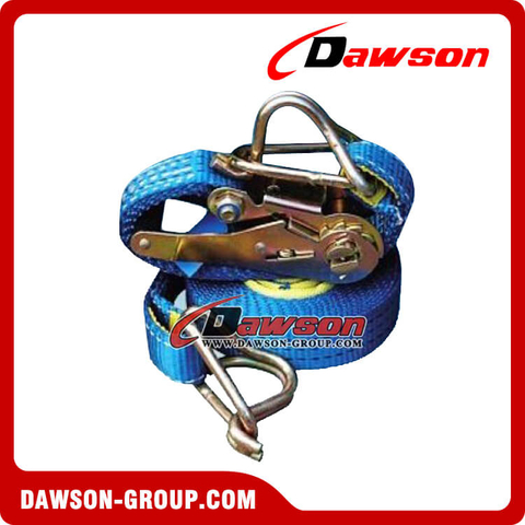 Ratchet Tie Downs, Webbing Load Restraint System
