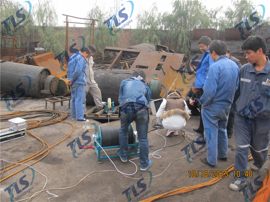 TLS Technologies Borehole Inspection Camera Application Case-Hongdong county coal mine well logging field-03