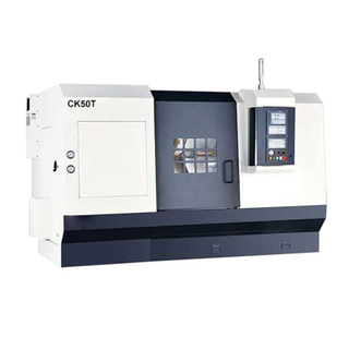 CK50T 45 Degree Slant Bed CNC Lathe for Thread Cutting