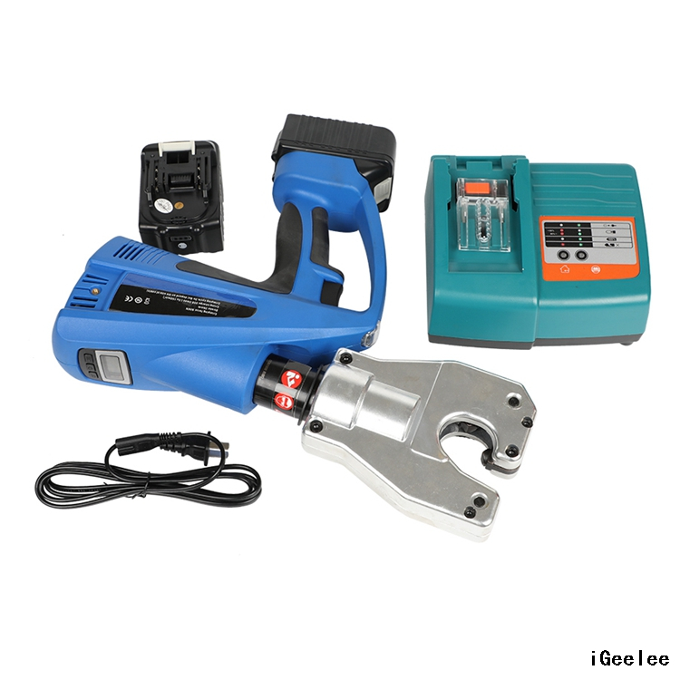 Battery Hydrauilc Wire Crimper BZ-6B for Copper Lug And Terminals with Battery Power And No Dies Required,range Up To 240mm2