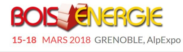 Bois Energie (Wood Energy Expo) 2018 France