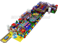 Mich funny plastic toys indoor soft playground for children 7016A