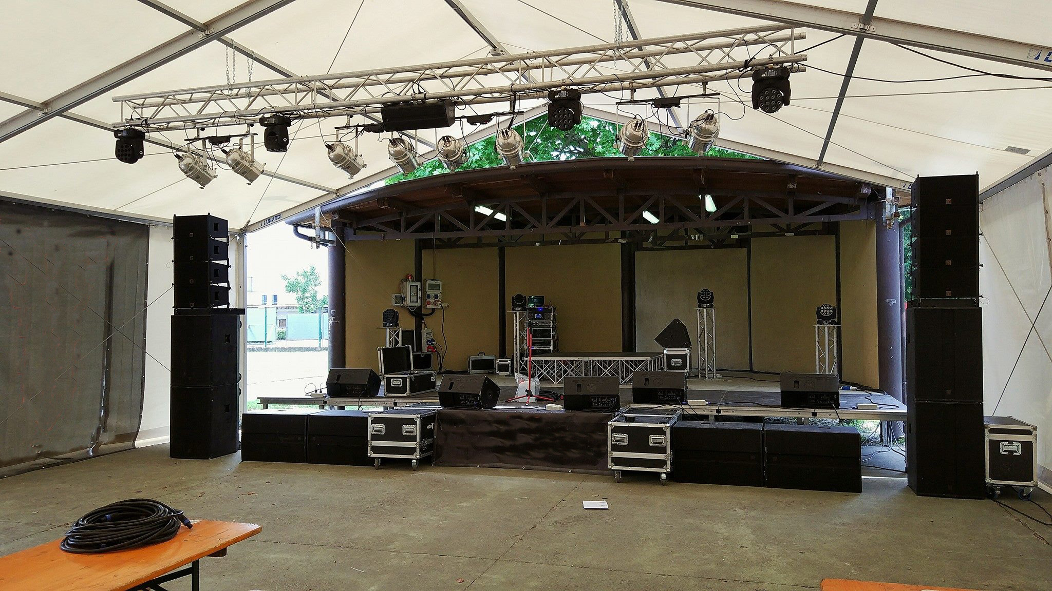 Sanway VR10 and S30 Line Array Supplied the Fourteenth Music Festival in Italy