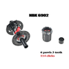 ARC Factory MT - 009F / R NBK bearings 32 holes 6 pawls 3 teeth 114 rings MTB boost 110*148mm MTB bike hub