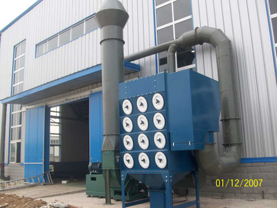 Metal Working Workshop Dust / Powder Suction Machine Cartridge Dust Collector