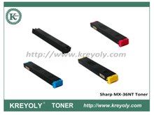 MX-36 Color Toner for Sharp MX2610/MX3110/MX3610/MX2640N/MX3140N/MX3640N