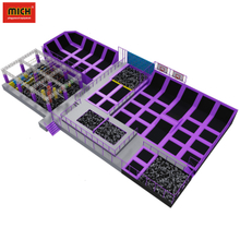 Cheap safety indoor trampoline amusement park for children